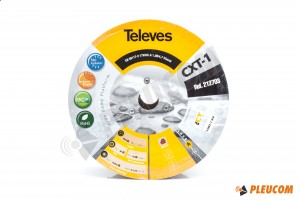 TELEVES CTX-1 KABEL ANTENOWY ROLKA 250MB - 2127 03
